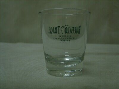 Buffalo Trace Bourbon Whiskey - Promo Branded Glass Barware Shotglass Shot Glass 4