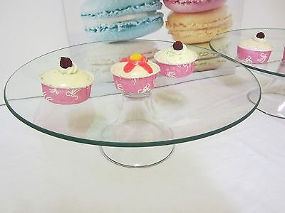 CLEARANCE- 2 for $25 LARGE Glass Cake Stand Cupcake stand Candy Lolly Buffet