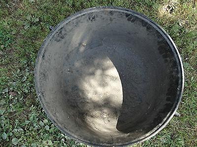 Vintage Large Cast Iron Cauldron Garden Planter Pot Yard Decor fire pit Antique 4
