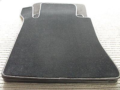 Original Lengenfelder Velours Fußmatten für Mercedes Benz W116 SE RUTSCHFEST