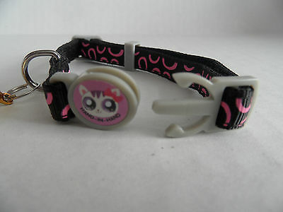 Circle Print Cat Kitten Safety Collar with Bell 2