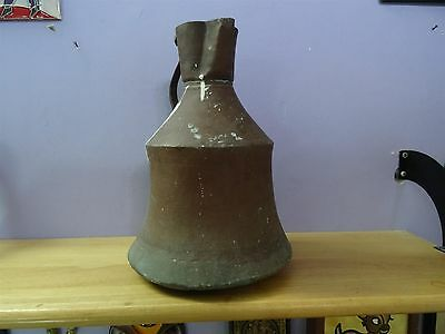 Antique Ottoman Copper Jug Pitcher Turkish Islamic Primitive Work Hand Made 8