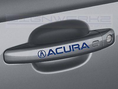 Acura Motorsports Decal Sticker logo RSX TSX TLX MDX RDX NSX Integra Pair