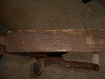 Ornate Theater Opera Seat for restoration Antique Cast Iron Rusty Salvage Part 8