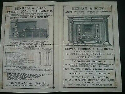 Victorian Adverts Booklet ***(See Photo's) ***(See Description For Details)*** 9