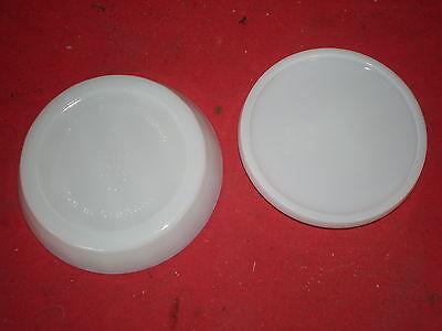 Deko für alter Zahnarzt - Milchglas Deckeldose für Bohrer