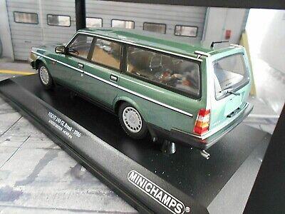 VOLVO 240GL 240 GL Break Kombi grün green met 1986 NEU Minichamps 1:18