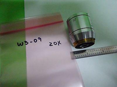 Microscope Polyvar Reichert Leica Objective Plan 20X Epi Dic Optiques Bin #W3-09 6
