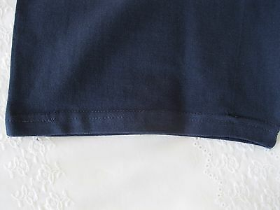 "Girls/Ladies Cycle Shorts NAVY size L (34-36"" Waist) Cotton/Elastane UK Made NEW 5"