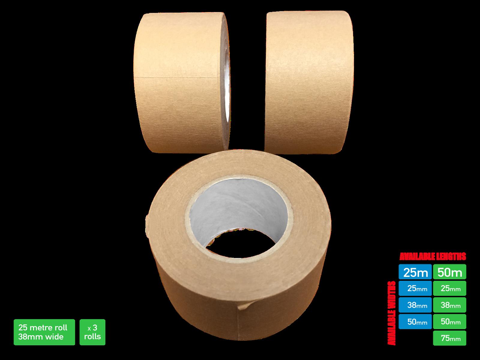 Picture Framing Tape Self Adhesive Brown Craft Framing Tape 50/25 metre 10
