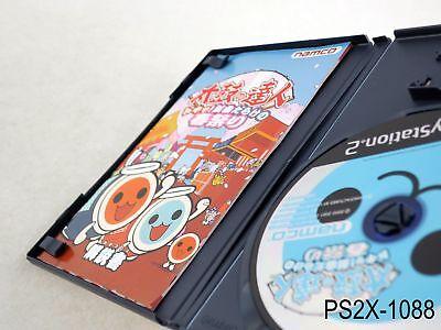 Taiko no Tatsujin 2 Doki Haru Matsuri Playstation 2 Japan Import PS2 US Seller B