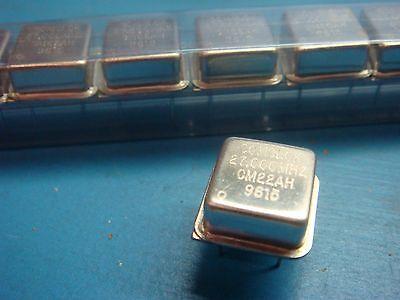 COMCLOK CX21AH-27.000 MHz Dual Comp 5V 8 PIN CRYSTAL CLOCK OSCILLATOR 27 5