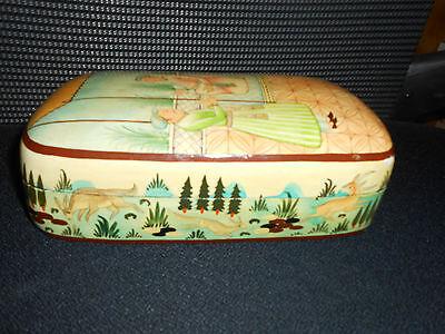 Rare Antique Persian Laquer Box 2