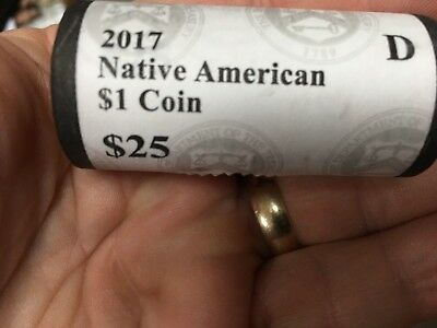 2017 D Sacagawea Native American Dollar US Mint Coin BU PRICE LISTED IS PER COIN 3