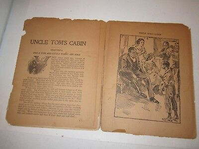 Antique Uncle Tom's Cabin - Stowe - Very Old - Poor Condition - Tub Mmmm1