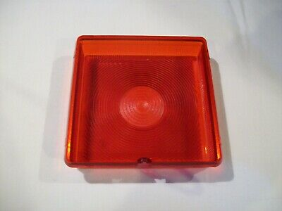 Square  tail light lens trailers fit some Ifor williams horse box lorry Wessex 2
