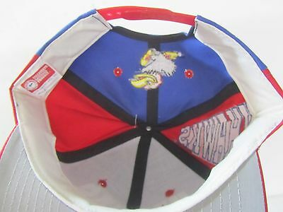 reputable site 7935e 481df ... Kansas Jayhawks Adjustable Snapback Cap Hat NOS W O Tags 4
