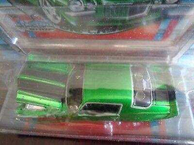 1971 Chevrolet Camaro Z/28 Pro Rodz Pro Touring Candy Green 1/64 Maisto Used 4