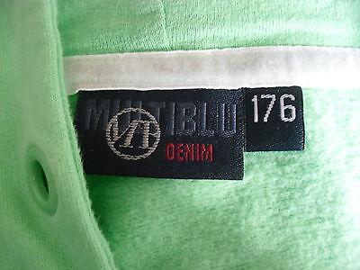 MB, Multiblu Denim, Schweatshirt Jacke, Kapuzenjacke, Hoody, Kapuze, 176, w.Neu 5