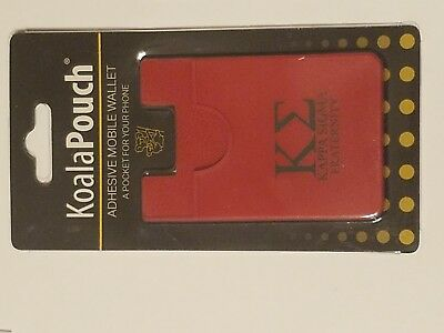 PI KAPPA ALPHA Silicone WALLET STICK TO PHONE with 3M sticker for Mounting