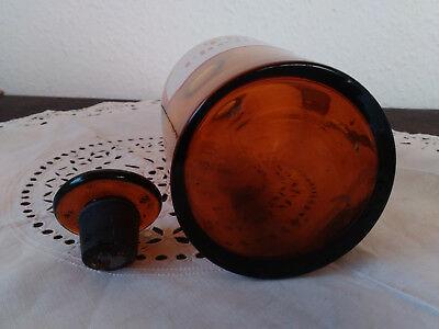 Apothekerflasche;Tinct. Chelidonii.;1/2 ltr.;braunglas;geschl. Stöpsel;Loft;Deco 2