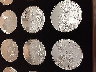 Rarität Albrecht Dürer In Silber Medaillen Franklin Mint 925 Silber