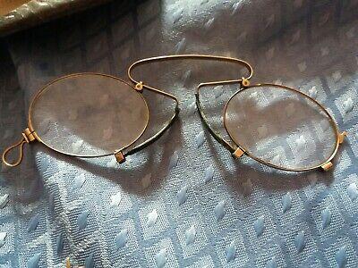 Kneifer, Zwicker Brille mit Etuie von Optal 3