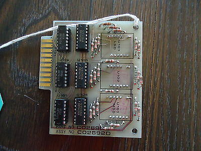New Stripper Display Board/pcb #2892, C02890D. For Branson/fose Ind. 2