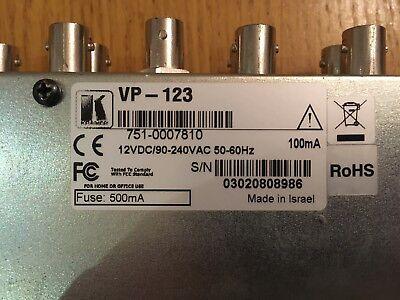 Kramer VP-123 RGBHV 1-in 3-out component / composite video distribution amp 4