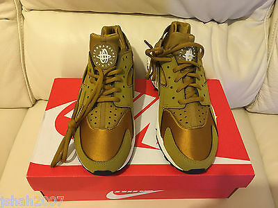 Details about NIKE AIR HUARACHE BRONZINE BRONZE GOLD ALL SIZES 4 9 LIMITED EDITION NEW *LOOK*