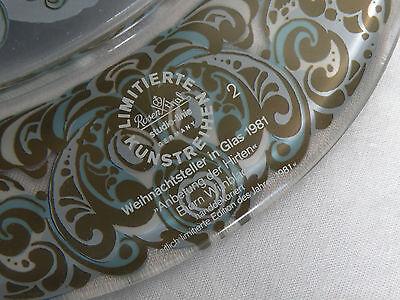 Rosenthal  Glasteller  Weihnachtsteller  1981  Ansehen Lohnt !!! 5