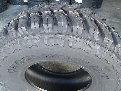 4 New 33x12 50r15 Inch Crosswind Mud Tires 33125015 12 50 33 1250 15
