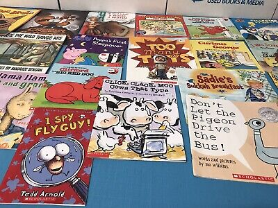Story Time Assorted Bundle / Lot of 20 StoryBooks for Kids/Toddlers/Daycare 4