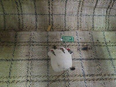 Doctor's Medical Bag Antique Satchel Messenger House Call Bag Leather Linen 5