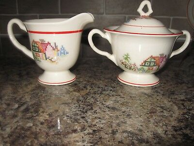 Crooksville China Pottery  Made In USA 7