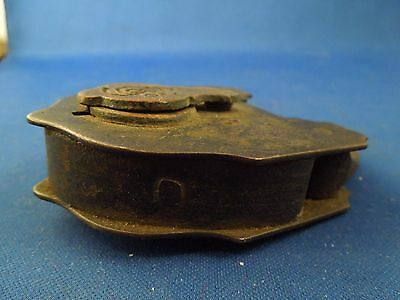 Antique S & Co Sargent & Company New Haven CT Padlock No Key 6