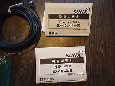 New Sunx Ex-13Ead & Ex13Ep Photoelectric,  Made In Japan 3