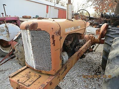 AC ALLIS CHALMERS Wd With Homemade 3Pt Hitch