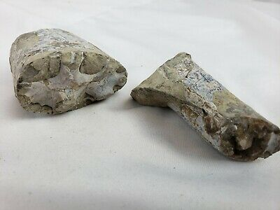 Lot of two pre-colombian artifacts (stone or pottery) 9