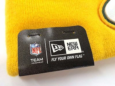 b46d199b02c ... New Era NFL Logo Whiz Skully Winter Beanie Cuffed Pom Authentic  Original Hat Cap 2