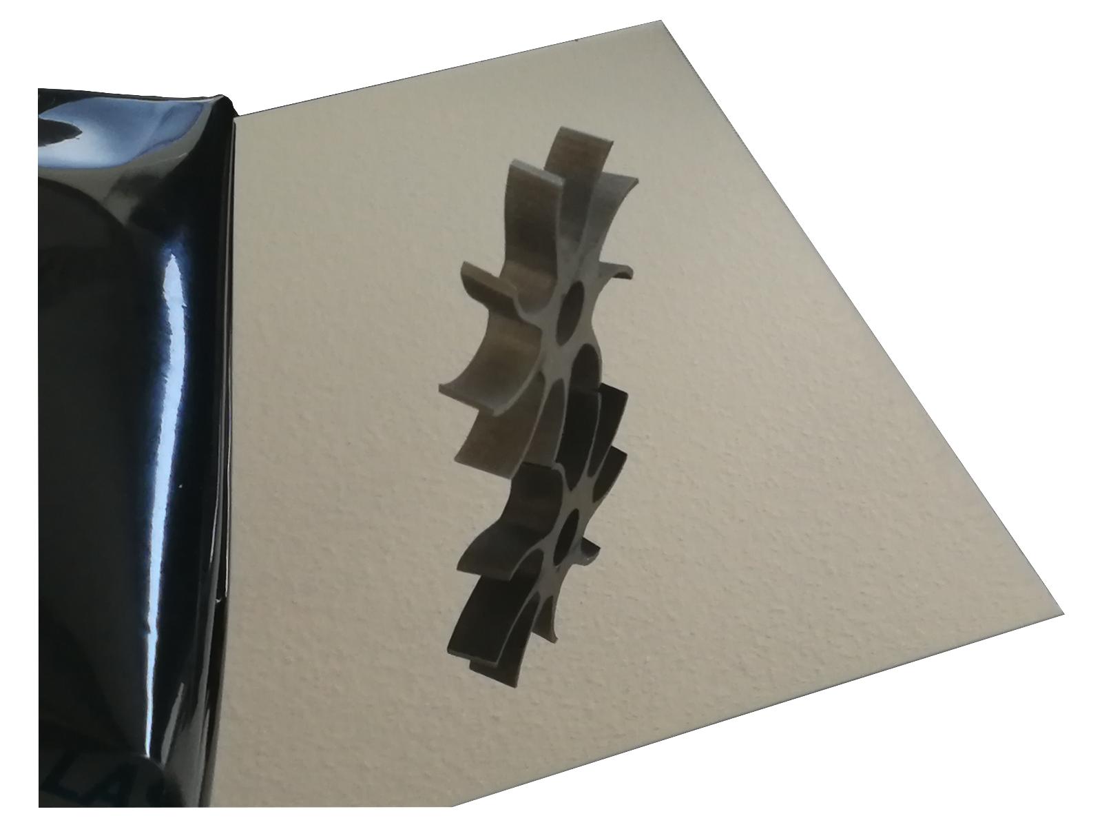 Edelstahl Blech 0,8mm Blank 1500mm Lang V2A Streifen Edelstahlplatte nach Maß