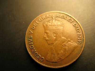 Canada 1921 Small Cent Penny. 2