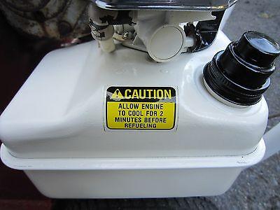 Briggs & Stratton 5-Hp 3-Hp 1981-1986 Gas Tank Caution Decal Vintage Original 2