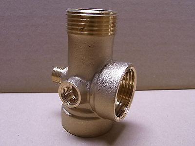 """5 Wegestück Messing Pumpe 1"""" Hauswasserwerk Druckkessel Ventil DN25 1"""" DN13 1/4"""""""