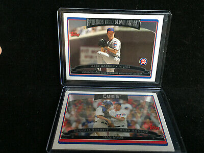 2006 Topps Lot of 27 Chicago Cubs: Maddux, Barrett, GOLD Serial, Rich Hill RC 8