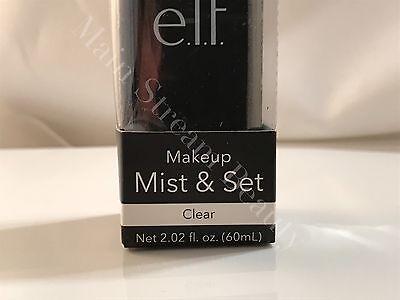 ELF Makeup Mist & Set Setting Spray Clear 2.02 oz. New In Box, FREE SHIP E.L.F