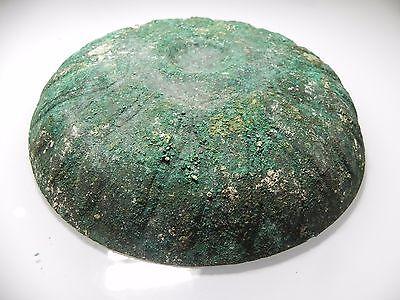 Zurqieh - Holy Land- Persian Occupation. Bronze Bowl. 5Th - 4Th Cent. B.c 6