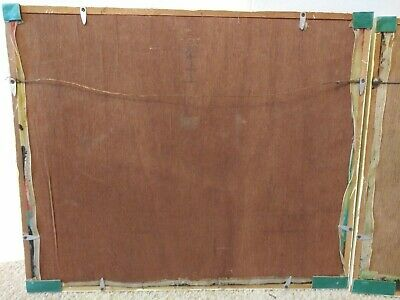 2 Antique Asian Framed Hand Paintings On Silk Behind Glass Bamboo Type Frame 5