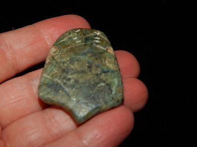 Pre-Columbian Jade Ceremonial Pendant, Nicoya, Authentic, Rare 8