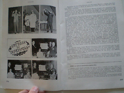 C.E.D.A.M. Nº 61 OCT 1966 Revista Magia Ilusionismo SPAIN MAGIC ILLUSIONISM MAG